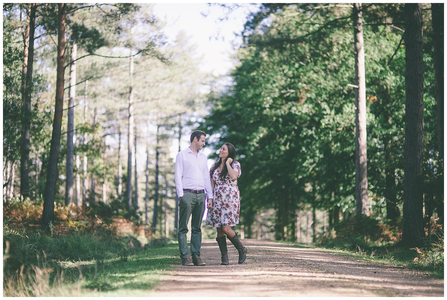 Love Shoot, engagement photography, new forest hampshire